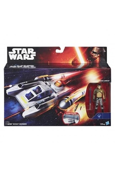 Jeux d'imitation Hasbro Y-wing scout bomber and kanan jarrus (star wars: the force awakens) figures