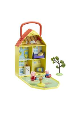 Jeux D Imitation Character Options Peppa Pig House Amp Garden Playset Darty