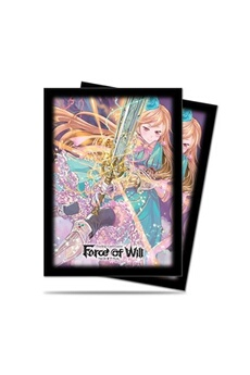 Jeux de cartes Ultra Pro Ultra pro force of will alice deck protector 65 sleeves - case of 10