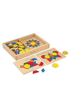 Jeux en famille MELISSA & DOUG Melissa & doug pattern blocks and boards (10029)