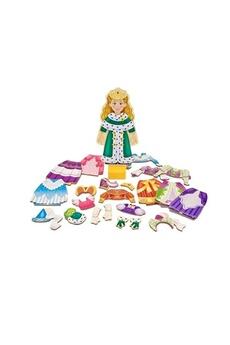 Jouets éducatifs MELISSA & DOUG Princess elise magnetic dress up set
