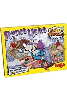 Jeux de cartes HABA Rhino hero super bataille