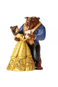 Figurines personnages Disney Traditions Disney traditions moonlight waltz belle and beast (beauty and the beast) figurine