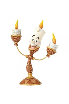 Figurines personnages Disney Traditions Disney traditions ooh la la lumiere beauty and the beast figurine