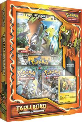 Jeux De Cartes Pokemon Pokemon Tcg Tapu Koko Box Darty
