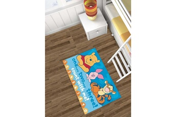 Tapis enfant Winnie Winnie ourson count with me bleu 80 x 140 cm tapis enfant et disney par winnie