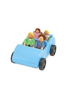 Jouets éducatifs MELISSA & DOUG Road trip! Wooden car and pose-able passengers