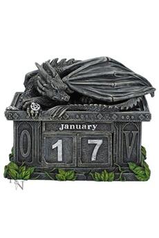 Accessoires de déguisement Nemesis Now Fortune's keeper dragon calendar