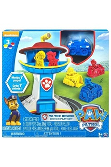 Jeux d'imitation Spin Master Paw patrol to the rescue dough playset