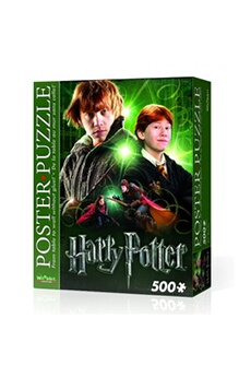 Puzzles WARNER BROS Harry potter ron 2d poster 500 piece jigsaw puzzle