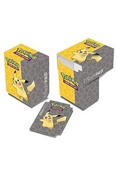 Jeux de cartes Ultra Pro Ultra pro pokemon pikachu full-view deck box