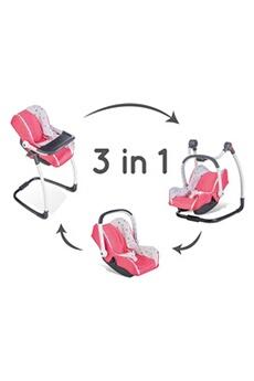 Accessoires de poupées SMOBY Bb confort siège + chaise haute - 240231