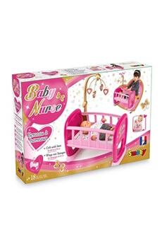 Accessoires de poupées SMOBY Baby nurse berceau a barreaux - 220328