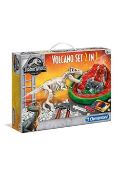 Figurines animaux Science Et Jeu Archéo ludic jurassic world - t-rex & volcan