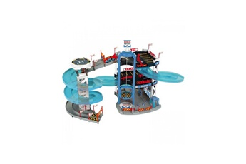 Circuits de voitures Majorette Majorette garage city flex avec 5 vehicules