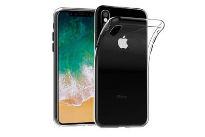 coque iphone xs silicone transparent