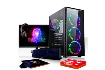 PC de bureau Fierce Pc Fierce exile pc gamer de bureau - amd ryzen 3 3200g 4x4ghz cpu, 16go ram, radeon vega 8, 1to hdd - 407122