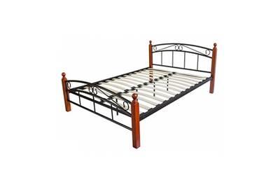 Lit 1 Place Homestyle4u Design Metal Lit Double 180 X 200 Cadre De
