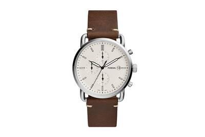 montre homme fossil bracelet cuir