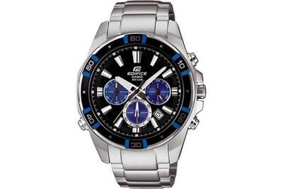 af5651def825b Montre homme Casio Montre homme casio edifice efr-534d-1a2vef multifonction  bracelet en acier argenté