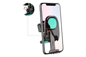 Support pour téléphone mobile Support voiture grille d aération universel  smartphone magnétique usams noir Usams ecae03122cbe