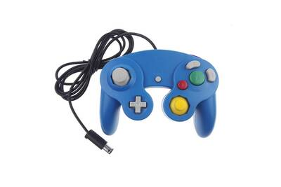 lowest discount price reduced wholesale dealer Manette pour nintendo wii, wii u et gamecube - bleu