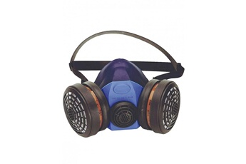 Accessoires de jardin Masque respiratoire singer 756s silicone 2 filtres  harnais de maintien tete et cou 4257b6d7ac6f