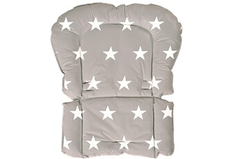 Chaise haute ROBA Coussin universel chaise haute collection 'little stars' roba - blanc