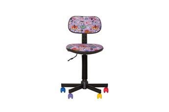 Fauteuil Bureau Bambo Comics Chaise De Pour Enfant Tissu Violet