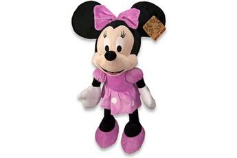 Peluches Guizmax Peluche minnie mouse 43 cm xl collector 90e anniversaire rose