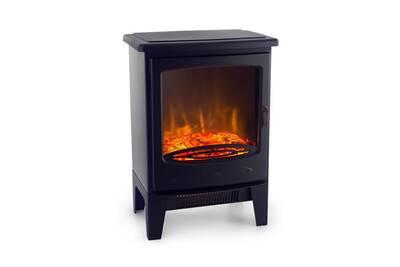 chemin e lectrique klarstein meran chemin e lectrique effet flammes chauffage 950w 1850 w. Black Bedroom Furniture Sets. Home Design Ideas