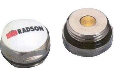 Accessoires chauffage central Radson Bouchon de radiateur plein radson pour panneau acier 15x21