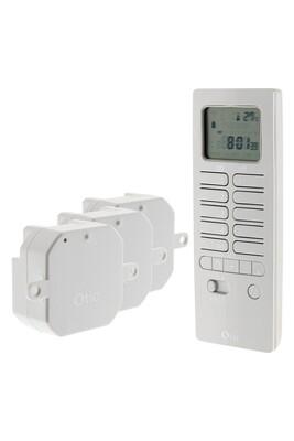 Accessoires maison connectée Otio Pack chauffage connecté avec télécommande thermostat et modules de chauffage - otio