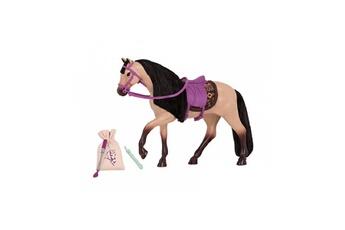 Accessoires de poupées BUKI Lori cheval buckskin - 15 cm