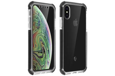 coque iphone xs 360 transparente