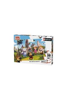 Puzzles Nathan Puzzles Mini-loup joue au chevalier