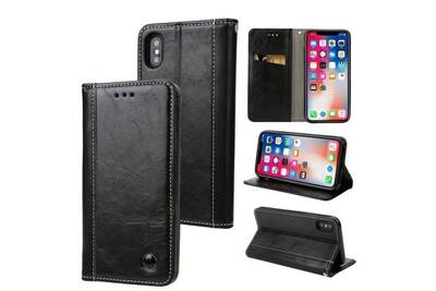 coque cuire iphone xs max