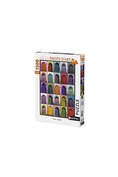 Puzzles Nathan Puzzles Portes colorées