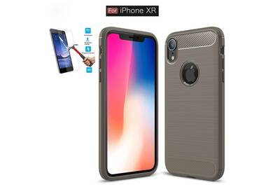 coque silicone iphone xr gris