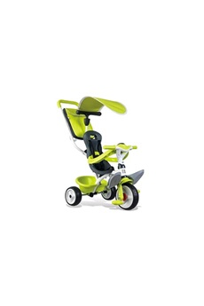 Vélos enfant SMOBY SMOBY Tricycle Baby Balade Roues Silencieuses Vert