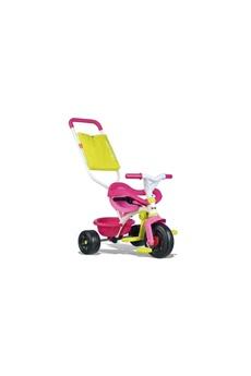 Vélos enfant SMOBY SMOBY Tricycle Enfant Evolutif Be Fun Confort Rose