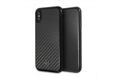 coque iphone xs en carbon