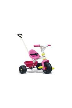 Vélos enfant SMOBY SMOBY Tricycle Enfant Evolutif Be Fun Rose