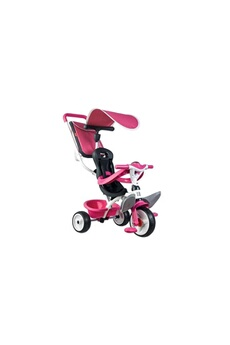 Vélos enfant SMOBY SMOBY Tricycle Baby Balade Roues Silencieuses Rose