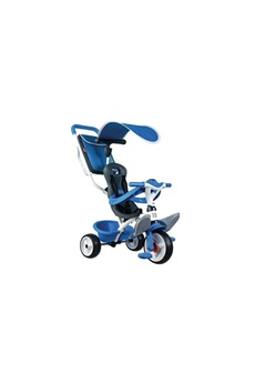 Vélos enfant SMOBY SMOBY Tricycle Baby Balade Roues Silencieuses Bleu