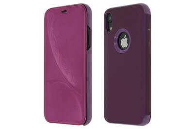 iphone xr coque clapet