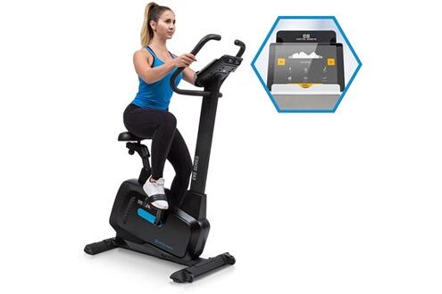 CAPITAL SPORTS Evo Pro Vélo elliptique silencieux avec écran - Inertie 20kg - Résistance magnétique - Noir