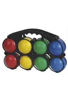 Jeux en famille Imagin Boules de pétanque enfant - 8 boules avec cochonnet - plastique