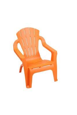 Chaise et fauteuil de jardin Sunnydays Chaise enfant selva - orange ...