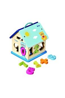 Jouets premier âge Imagin Maison avec chiffres à encastrer - jouet éducatif - multicolore